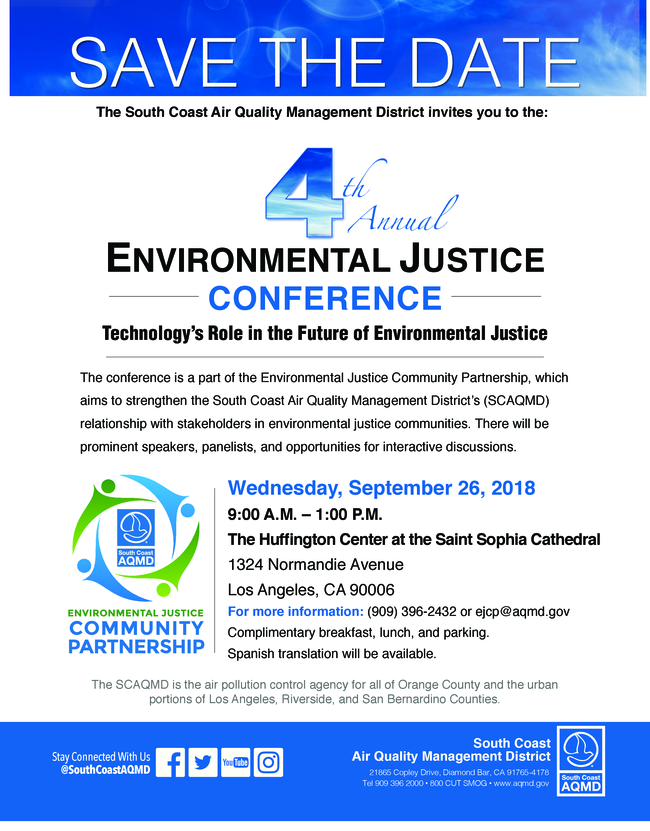 Environmental Justice Conference